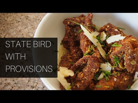 Cooking State Bird Provisions