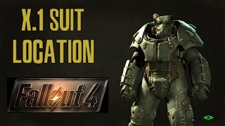 Fallout 4 X-1 Power armor location