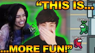 Among Us: Hide And Seek! | Sykkuno Plays The New Among Us Game Mode! | PeterparkTV Cheated!?