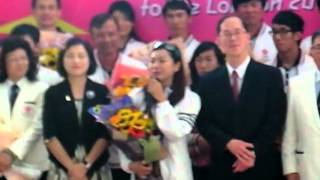 倫敦奧運中國香港代表團返港歡迎儀式 20120814