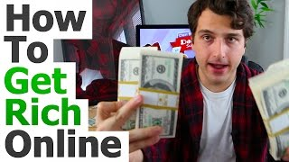 how to become rich in real life