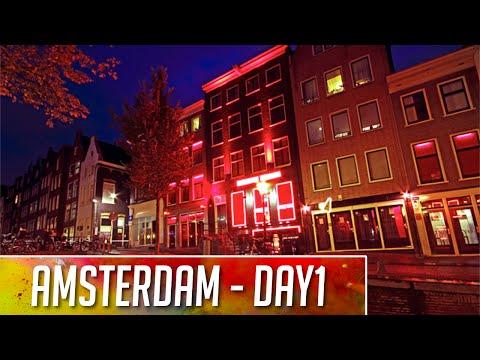 QUARTIERI A LUCI ROSSE! ✈ Amsterdam #Day1