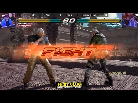 TEKKEN7 [FT 5] Jimmyjtran VS Multi ▶Bryan V Bryan