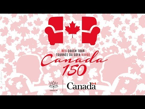 Red Couch Tour - Itinerary - Pan-Canadian Tour 42 Stops across Canada