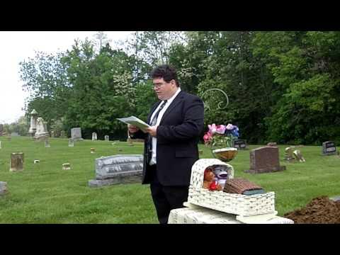Frances Kinsey's Graveside Service
