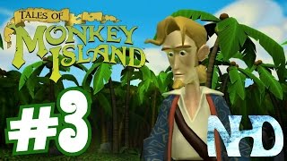 Tales of Monkey Island Chapter 1 - Launch of the Screaming Narwhal (pt3) The Jungle