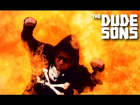 How Long Can You Survive On Fire? Challenge - The Dudesons