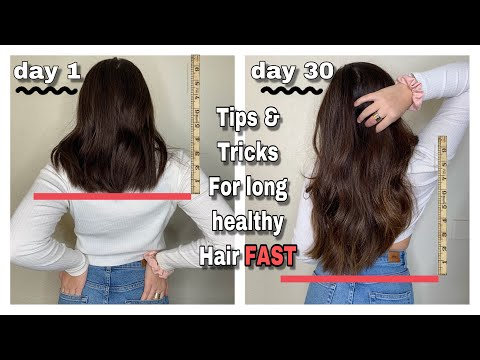 how-to-grow-your-hair-long-fast!!-*3-inches-in-a-month*-(best-tips-for-growth)