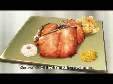 Food Wars! Shokugeki No Soma S03E14 - Preparation of The Best Solman Dish