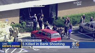Police: Five People Killed In Mass Shooting At Florida Bank