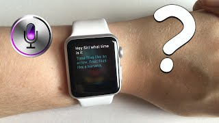Ask Siri: What time is it? [Apple Watch]