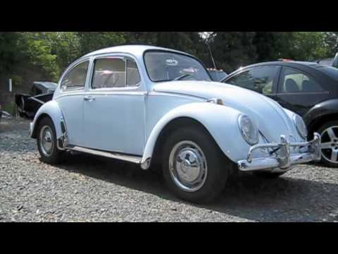 1967 Volkswagen Beetle Start Up, Exhaust, and In Depth Tour - YouTube