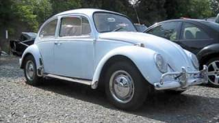 1967 Volkswagen Beetle Start Up, Exhaust, and In Depth Tour