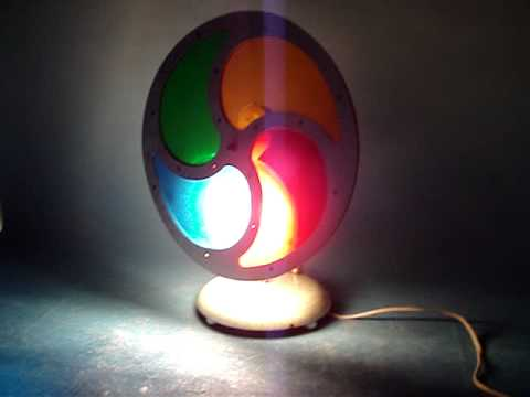 vintage 1960 s revolving rotating christmas tree light auction bay