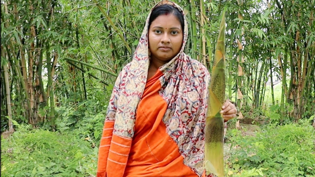 Village Food||বাঁশের মোরব্বা!গ্রামের এই রেসিপি একবার খেলে স্বাদ ভুলতে পারবেন না||bamboo shoot recipe