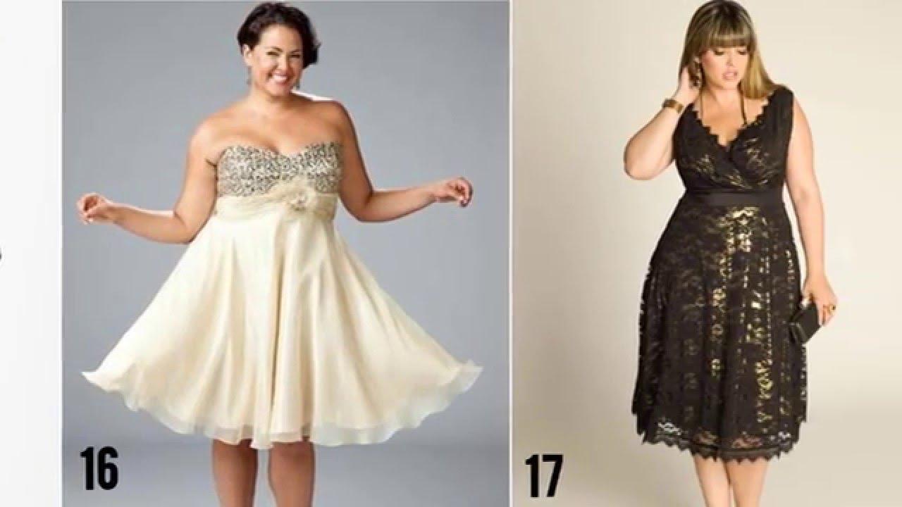 Vestidos de fiesta para mujeres gordas