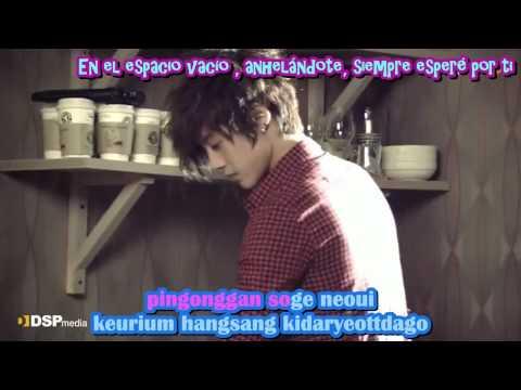 Heo Young Saeng - Nameless memories - Karaoke & sub español