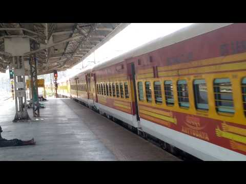 SPECIAL TRAIN : ANTYODAYA EXPRESS : MUMBAI TATANAGAR EXPRESS GETS UNSCHEDULE HALT AT THANE STATION