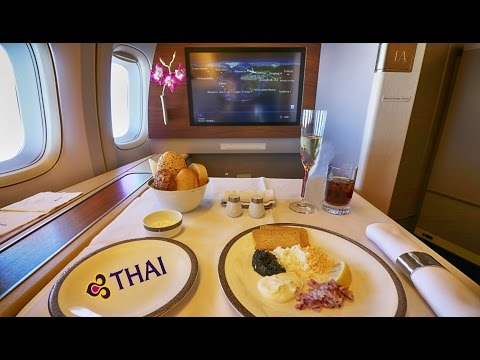 THAI Airways - Royal First Class - Europe to Australia