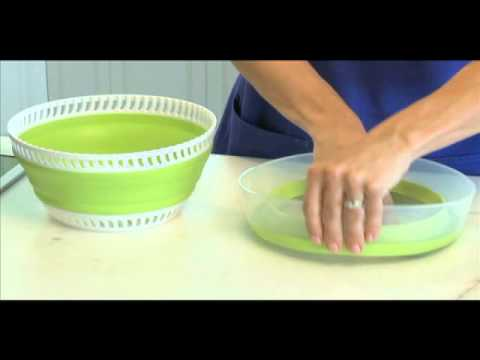 Collapsible Salad Spinner - Kitchen Gadgets - Progressive
