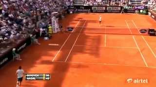 Rafael Nadal top 10 passing shots 2013