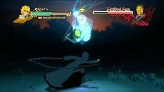 Naruto Shippuden Ultimate Ninja Storm 3 Full Burst Minato Vs Tobi Boss Battle