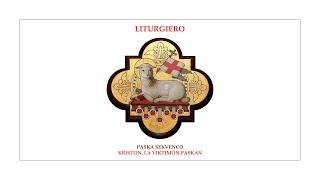 Liturgiero — Kriston, la Viktimon paskan — Paska sekvenco