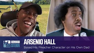 "Arsenio Hall Based Some of the ""Coming to America"" Preacher on His Own Father"