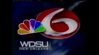 WDSU NewsChannel 6 10PM Open (11/12/01)