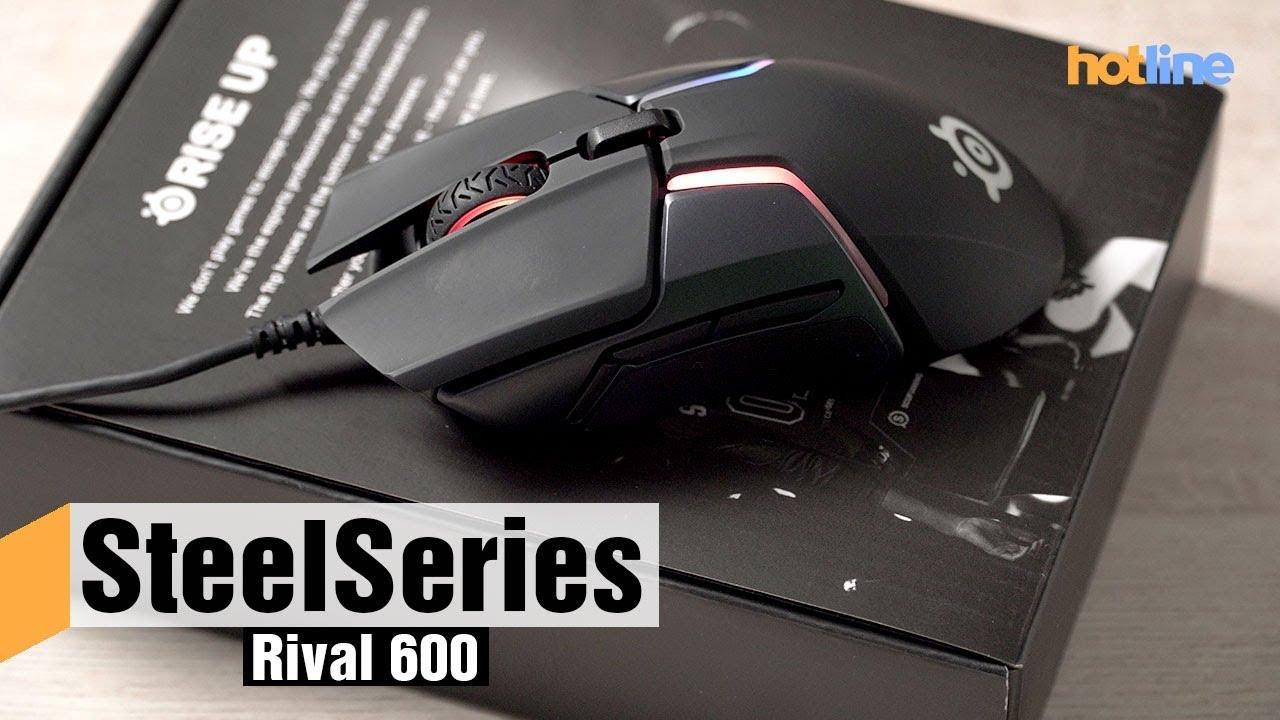 SteelSeries Rival 600 — обзор игровой мыши
