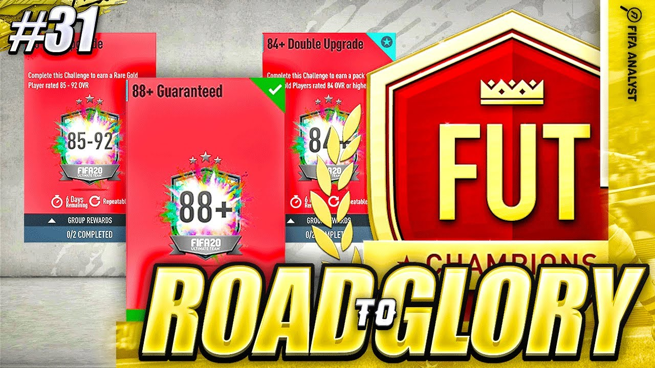 FIFA 20 UPGRADE PACKS ARE HERE! ROAD TO GLORY #31 | FUT CHAMPS GAMEPLAY | FIFA 20 ULTIMATE TEAM