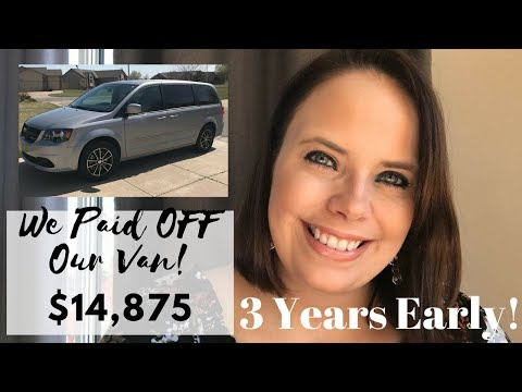 we-paid-off-our-van-3-years-early!-|-$15,000-|-debt-free-journey