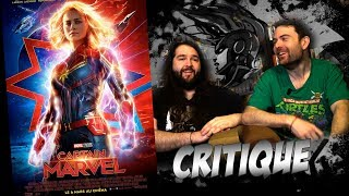 CRITIQUE - Captain Marvel - (spoilers à partir de 14:00)
