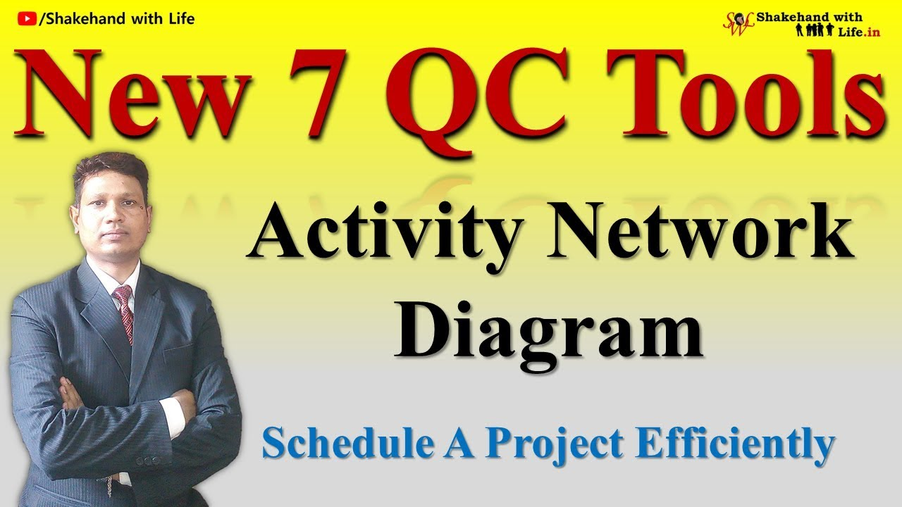 new 7 qc tools module 7 activity network diagram complete video tutorial - Complete Network Diagram