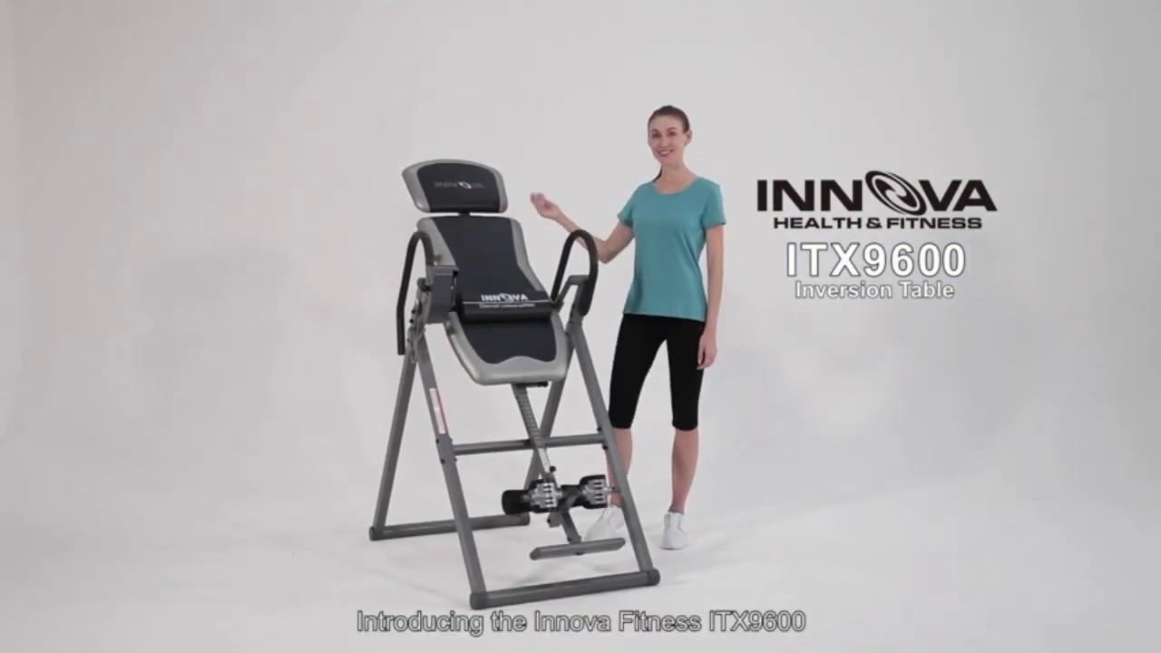 Innova ITX9600A Heavy Duty Inversion Table {+ve} Innova ITX9600A Heavy Duty Inversion Table Review!+