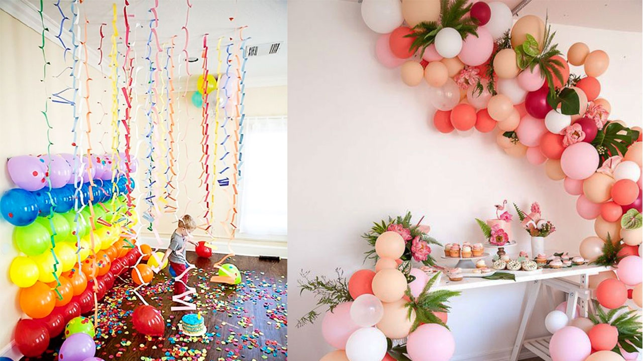 How to decorate room for birthday party cute decor snacks for Room decor ideas for birthday