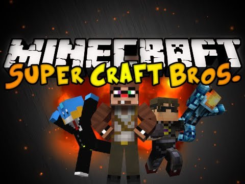 Minecraft Mini-Game: Super Craft Bros. Brawl! (ft. YouTubers) (HD)