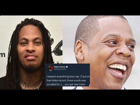 Waka Flocka CALLS OUT Jay-Z for 'Talk Up' Verse on Drake Scorpion, WAKA MISUNDERSTOOD