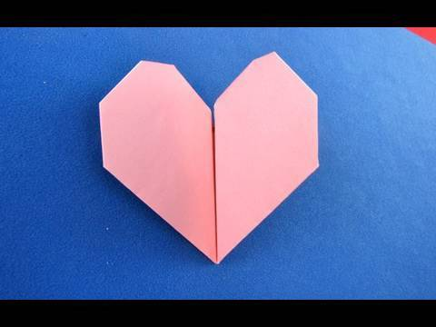 Youtube How To Make A Origami Beating Heart