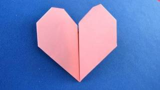 Cuore pulsante origami beating heart 折り紙  折纸