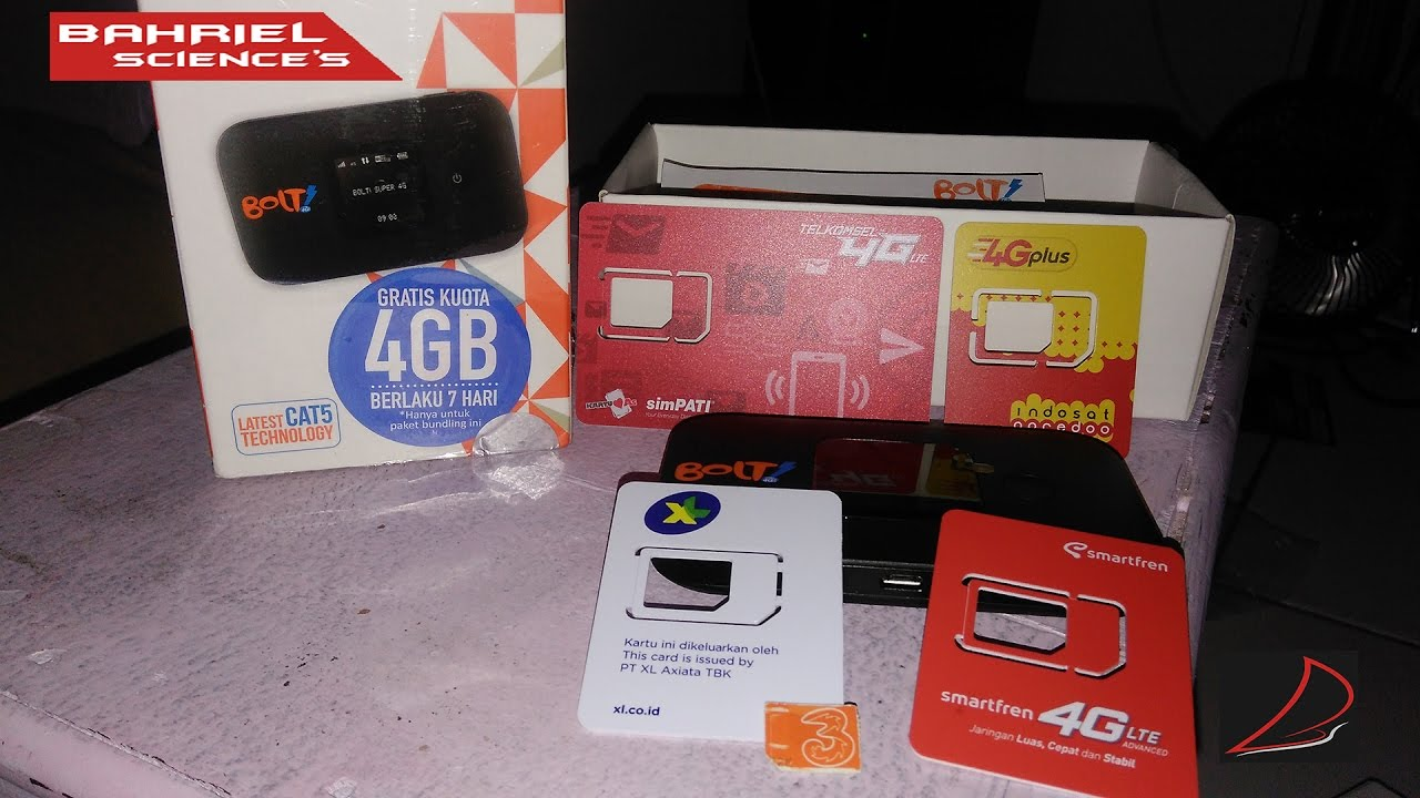 Bolt Slim 2 HUAWEI E5577 Unlock All SimCard - Unboxing+Review 4G