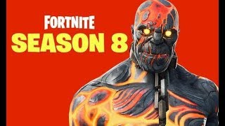 Fortnite Staffel 8! Neue Skins, Vulkanausbruch? Wird die neue Saison gut oder nicht sein?