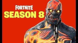 Fortnite Season 8! New Skins, Volcano Eruption? Will the new season be good or nah?
