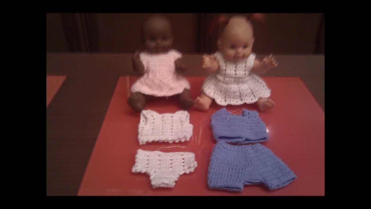 Vestiti Per Le Bambole Alluncinetto Youtube