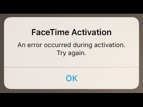 How To Fix Facetime Not Connecting Error