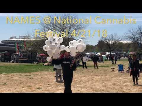 NAMES - National Cannabis Festival - Washington DC - RFK Stadium - 4/21/2018