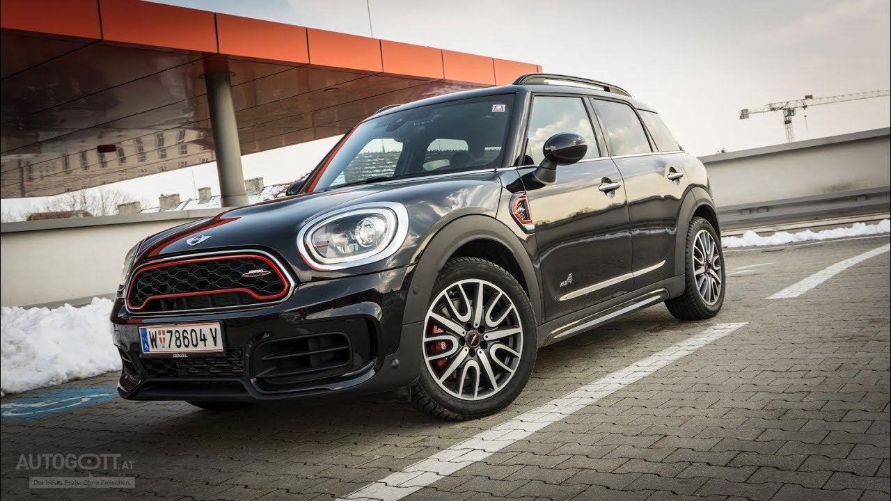 Mini Cooper Countryman John Cooper Works Vorstellung 2018 Youtube