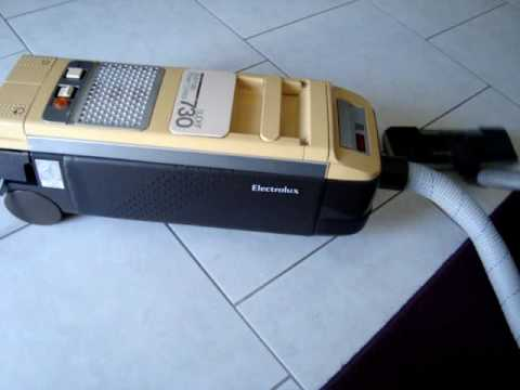 Electrolux D730     vacuum       cleaner     ca 1985  YouTube