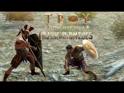 Ajax & Diomedes DLC - Total War Saga: Troy   Bitwa Tuff vs Noyan + opinia o nowościach  