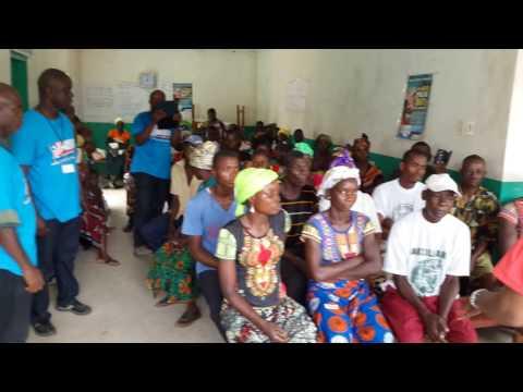 Liberia Medical Mission  team in Orange  Grove, Grand Bassa County, Liberia